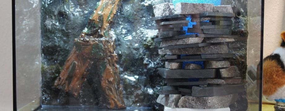 Aquariumrückwandbau – Teil 7